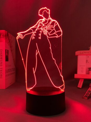 Harry Styles LED touch sensor color changing table lamp